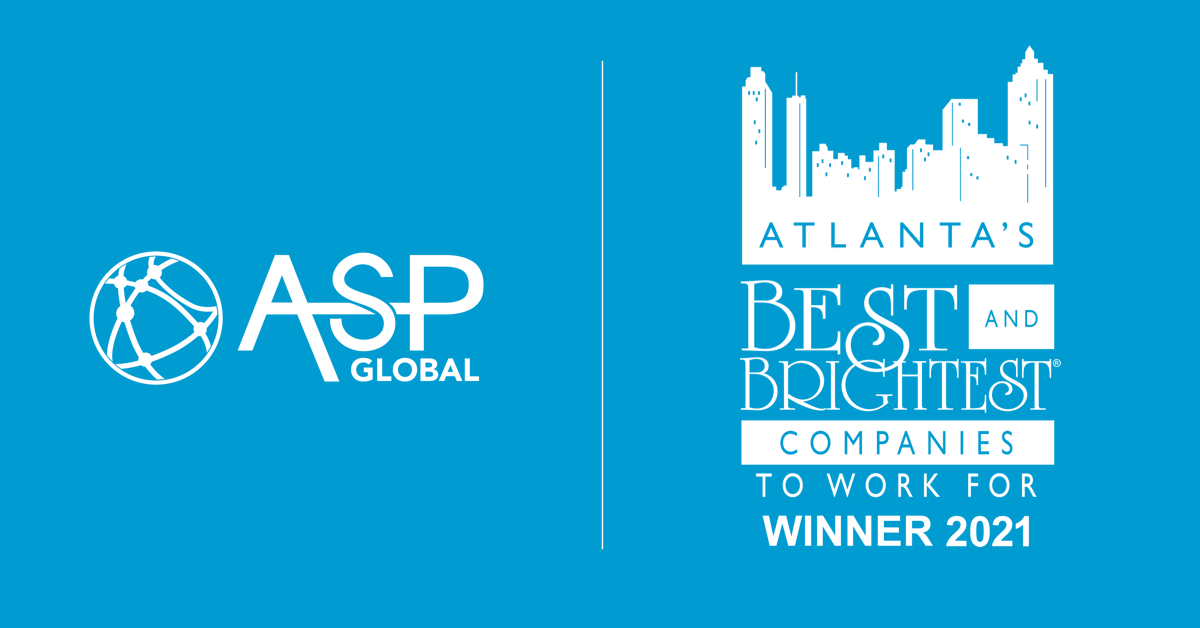 ASP Global Named One of Atlanta's Best and Brightest Companies to Work For
